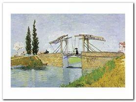 Pont De Langlois plakat obraz 80x60cm