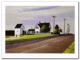 Route 6 Eastham plakat obraz 80x60cm