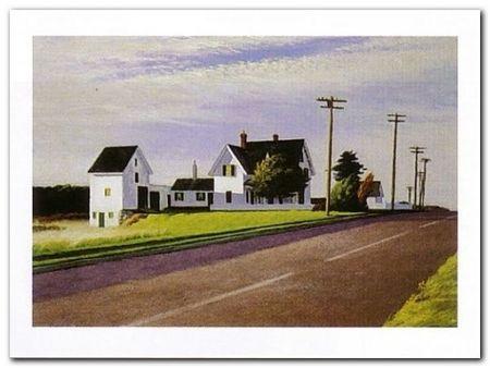 Route 6 Eastham plakat obraz 80x60cm (1)