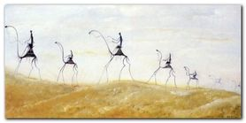 Les Dunes plakat obraz 100x50cm