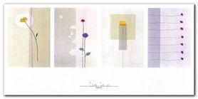 Floral Designs plakat obraz 100x50cm
