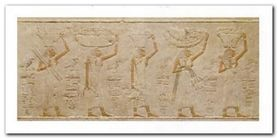Egyptian Art plakat obraz 100x50cm