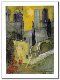 San Gimigiano plakat obraz 60x80cm