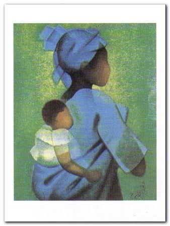 Mere Et Enfant plakat obraz 60x80cm (1)