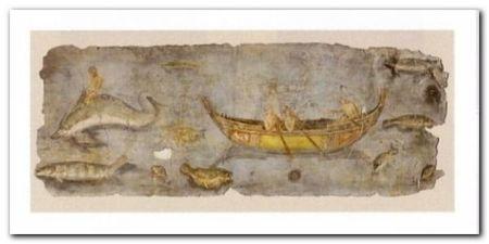Scena Di Pesca plakat obraz 100x50cm (1)