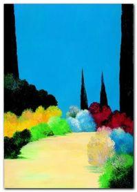 L-Alee Des Parcs plakat obraz 50x70cm