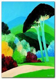 Le Parc A St. Tropez plakat obraz 50x70cm