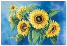 Sunflowers plakat obraz 65x45cm