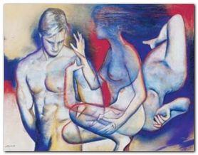 Couple III plakat obraz 70x55cm