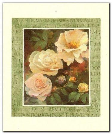 Róże plakat obraz 50x60cm (1)