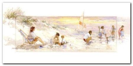 Beachtrip plakat obraz 70x35cm (1)
