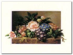 Kwiaty II plakat obraz 40x30cm