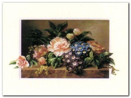 Kwiaty II plakat obraz 40x30cm (1)