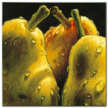 Pears plakat obraz 50x50cm (1)