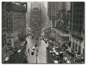 TIMES SQUARE NYC plakat obraz 80x60cm