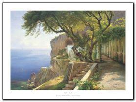 Pergola In Amalfi plakat obraz 80x60cm