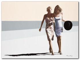 The Conversation plakat obraz 80x60cm