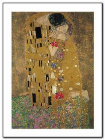 Der Kuss plakat obraz 60x80cm