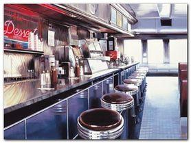 Ruthie, Moes Diner plakat obraz 80x60cm