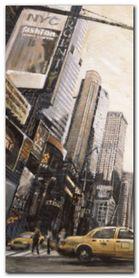 Times Square I plakat obraz 40x80cm