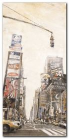 Times Square II plakat obraz 40x80cm