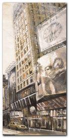 Times Square III plakat obraz 40x80cm