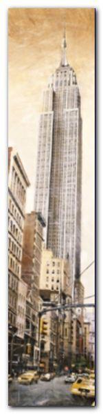 Empire State B. plakat obraz 20x80cm