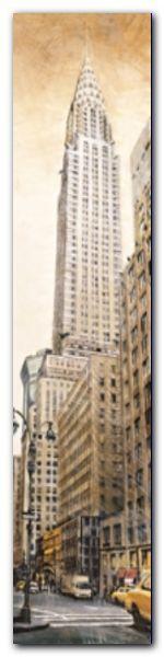 Chrysler Building plakat obraz 20x80cm