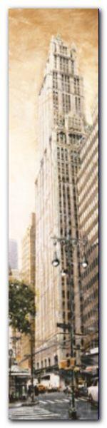 Woolworth Building plakat obraz 20x80cm