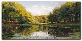 River Landscape plakat obraz 100x50cm