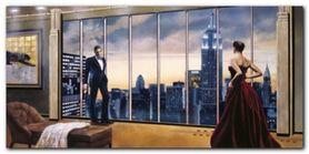 Evening Romance plakat obraz 100x50cm