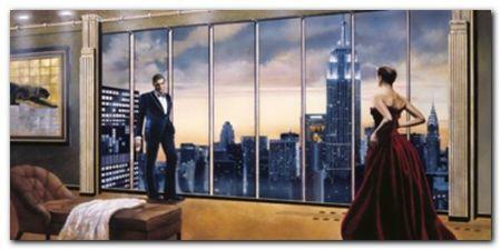 Evening Romance plakat obraz 100x50cm (1)