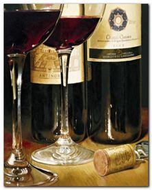 Chianti Classico plakat obraz 40x40cm