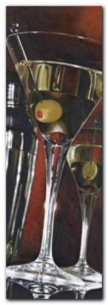 Cocktail Hour plakat obraz 30x80cm
