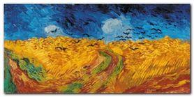 Wheat Field plakat obraz 100x50cm