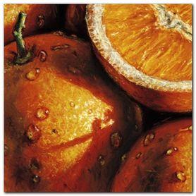 Oranges plakat obraz 24x24cm