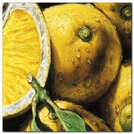 Lemons plakat obraz 24x24cm