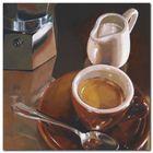 Caffe Del Mattino plakat obraz 24x24cm (1)