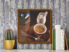 Caffe Del Mattino plakat obraz 24x24cm (3)