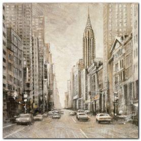 Chrysler Building plakat obraz 24x24cm