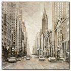 Chrysler Building plakat obraz 24x24cm (1)