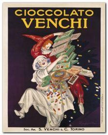 Cioccolato Venchi plakat obraz 24x30cm