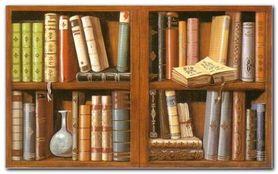 Libreria II plakat obraz 80x50cm