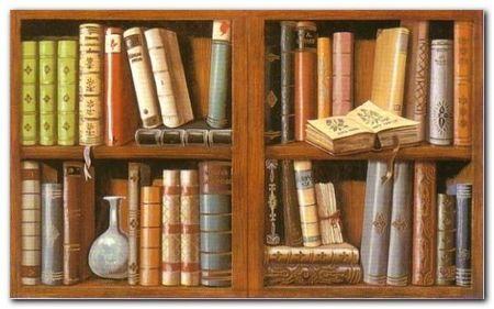 Libreria II plakat obraz 80x50cm (1)