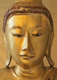 GOLDEN BUDDHA fototapeta 183x254cm
