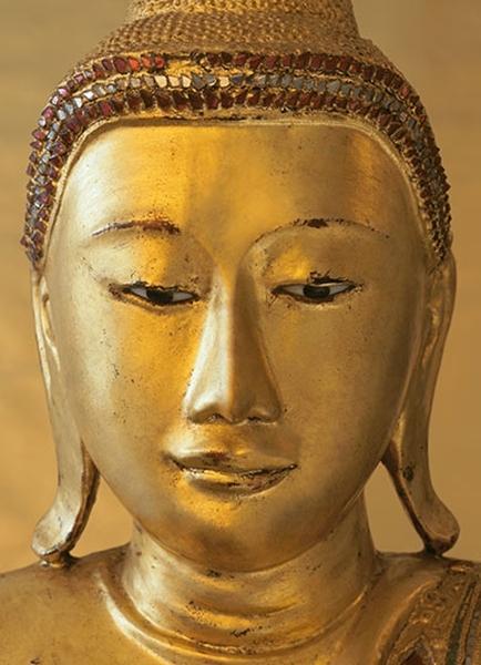 GOLDEN BUDDHA fototapeta 183x254cm (1)