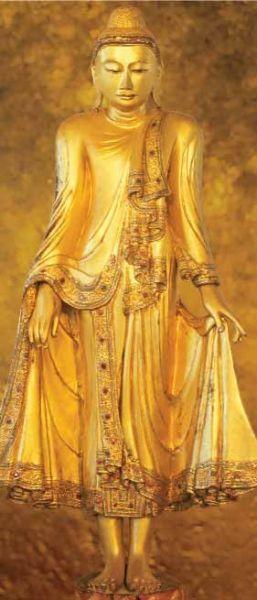 STANDING BUDDAH fototapeta 86x200cm