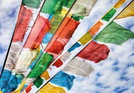 PRAYER FLAGS fototapeta 184x127cm