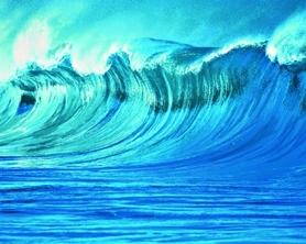 THE WAVE fototapeta 200x160cm