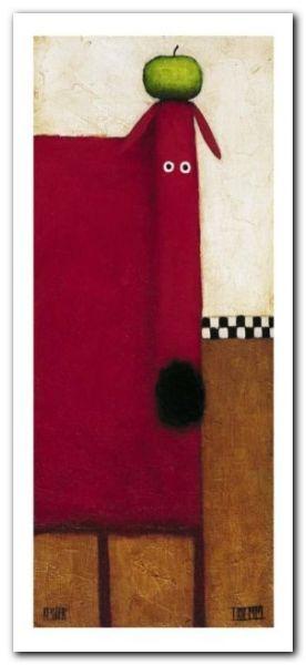 Red Dog III plakat obraz 23x50cm
